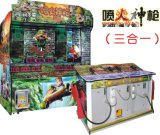 Game Machine-Laser Shooting-Arcade Game-Spurts Fire of Gun-Three in One Model