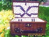 Willow cesto de piquenique (CH01-W1402)