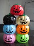 Zucca di Halloween in plastica (RHW-07010)