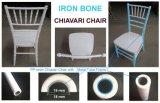 Resina de PP e Metal Banquetes Cadeira de Casamento Chiávari Cadeiras de jantar