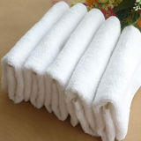 100%の高品質の白い綿タオル