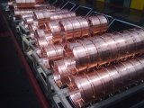 Alambre de soldadura revestido del CO2 del alambre de soldadura del alambre/del cobre del MIG Er70s-6