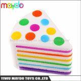 Новые Squishy Rainbow треугольник торт медленным ростом стресса игрушки