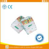 A absorção de superfície seca impresso colorido fraldas para bebé