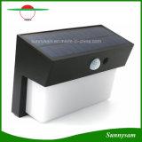 人体の赤外線センサー太陽ランプ50 LEDの防水動きセンサーの壁ランプの屋外のヤードの通りの庭ライト