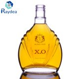 botella de vino del vidrio de pedernal 700ml para Xo