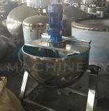 Alimento rivestito elettrico verticale della caldaia dell'acciaio inossidabile