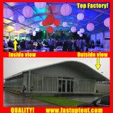 展覧会800の人のSeaterのゲストのための明確なArcumの玄関ひさしのテント