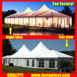 De hoge Piek Gemengde Tent van de Markttent voor Huwelijk in Grootte 6X12m 6m X 12m 6 door 12 12X6 12m X 6m
