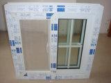 소형 이중 유리를 끼우는 PVC 슬라이딩 윈도우