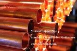 Disco temperar o tubo de cobre