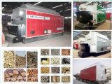 Chaudière à vapeur horizontale allumée par bois neuf professionnel de chaudière d'essence de biomasse de chaudière de la Chine de 2 tonnes