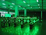 工場価格の屋外HD LEDの薬学の十字のLED表示