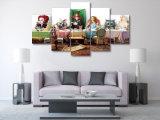 HD напечатало Алиса в холстине Mc-101 изображения плаката печати декора комнаты печати холстины картины группы страны чудес