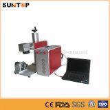 ステンレス鋼またはレーザーの色刷機械または小型レーザーのマーカーのためのデスクトップのファイバーレーザーのマーキング