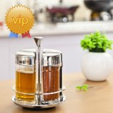 4 PCS Glass Spice Bottle 또는 Seasoning Box