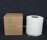 Espessura 25um da largura 250mm/500mm/750mm da película de estiramento da ensilagem, branco, preto e verde como seu Opitional