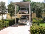 Levage hydraulique de véhicule de maison de ciseaux avec le double paquet