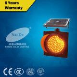 Semaforo solare di vendita dell'istantaneo caldo LED di colore giallo con il migliore prezzo