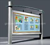 Caixa leve de alumínio para anunciar o indicador (HS-LB-018)