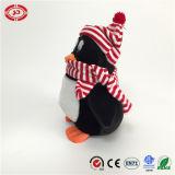 Jolie Tencent cadeau jouet en peluche de Noël d'hiver doux Penguin Toy