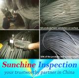 De Staaf van de Staaf van het staal en Pre-Shipment van de Draad van het Staal de Dienst van de Inspectie in China/het Certificaat van de Inspectie
