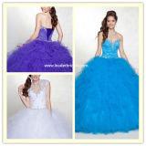Nouveau Quineanera robes bustier robes à bille de tulle de perlage Ya71