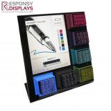 Compteur personnalisé Pen Display Rack acrylique noire