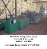 Haste de alumínio fundido e linha de laminação Contínua (CCR)