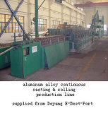 Aluminum Rod Continuous Casting & Rolling Line (CCR)