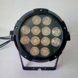 o estágio ao ar livre do diodo emissor de luz RGB da luz da PARIDADE do diodo emissor de luz 12*15W ilumina DMX 6CH
