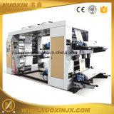 4 Farben-Rollen-pp. gesponnene Beutel-flexographische Drucken-Maschine