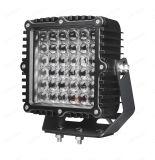 Luces campo a través del acoplado del carro del alimentador de la lámpara de inundación del punto ligero de conducción de 9 pulgadas 180W LED