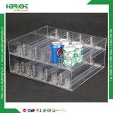 Supermarkt-justierbarer Teiler-Zigaretten-Sprung-Regal-Ausdrücker
