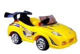 Les enfants voyagent en voiture jouet (N611 jaune)