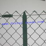 Enduit de PVC Lien Chink clôture avec T-marché Post pour la France