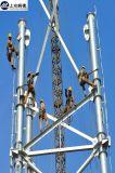De gegalvaniseerde Toren van de Buis van het Staal van de Transmissie van de Macht