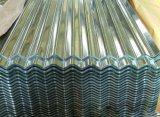 Color cubierto galvanizado cubriendo las hojas de acero del material para techos de /Galvalume