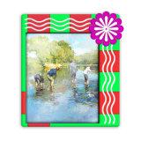 Commerce de gros 3D Cadre photo PVC / Plastique Photoframe / Cadeaux photo Photo Frame