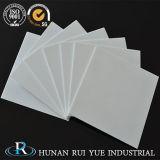 El 95%-99,99% cerámica alúmina personalizado de alta resistencia a la temperatura de la placa de gran diámetro