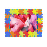 磁石が付いている柔らかいPVC 3Dロゴの写真フレーム