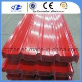 建物のためのPrepainted電流を通された鋼鉄屋根ふきのシートによって着色される屋根シート