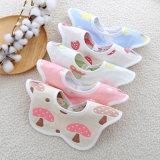 Nuevos Productos más vendidos Soft 100% algodón orgánico 360 grados de baberos para bebés
