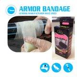 Aceite de alta resistencia del tubo de fugas en tuberías de gas de vendaje y kits de reparación de cinta de corrección de fibra