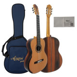 Гитара Aiersi Smallman классическая с вычисляемыми задней частью и стороной клена