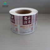 Collants de roulis de PVC de papier pour la bouteille de boisson