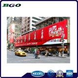 Impression de bandeau publicitaire de drapeau de câble de PVC Frontlit (300dx500d 18X12 400g)