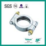 衛生学クランプ衛生ステンレス鋼高圧クランプ