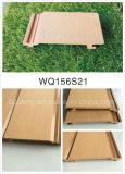 Anti-UVholz mag PET Wand-Umhüllung/haltbares WPC Plastikpanel
