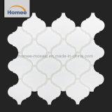 Superficie satinada con descuento baldosas blancas en forma de linterna arabescos mosaico Mosaico